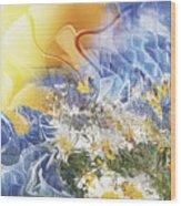 Camomile. 2010 Wood Print