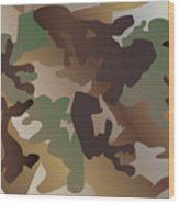 Camouflage Pattern Background  Clothing Print, Repeatable Camo G Wood Print