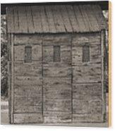 Camp Randall Stockade - Madison Wisconsin Wood Print