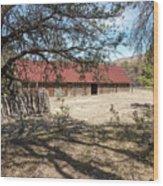 Camp Rucker Barn 2 Wood Print