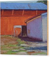 Campbell Farm Wood Print