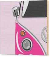 Camper Pink Wood Print