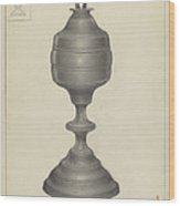 Camphene Lamp Wood Print