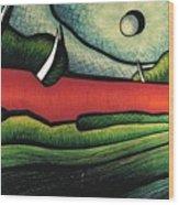 C.a.n. View Wood Print