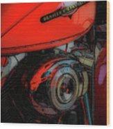 Can You Feel The Rumble 4420 G_2 Wood Print