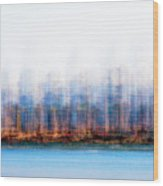 Can You Name The Skyline Wood Print