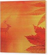 Canada 150 Wood Print