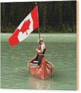 Canada Day... Wood Print