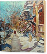 Canadian Art And Canadian Artists Wood Print
