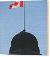 Canadian Flag  2 Wood Print
