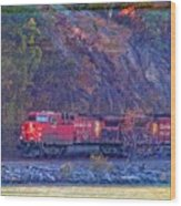 Canadian Pacific Reds Wood Print