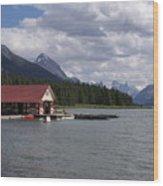 Canadian Rockies # 10 Wood Print