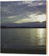 Canadian Sunset Wood Print