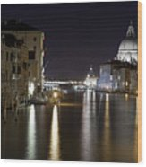 Canal Grande - Venice Wood Print