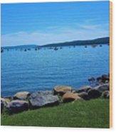 Canandaigua Lake  Wood Print