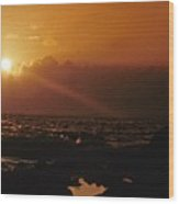 Canary Islands Sunset Wood Print