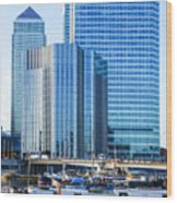 Canary Wharf 10 Wood Print