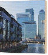 Canary Wharf 7 Wood Print