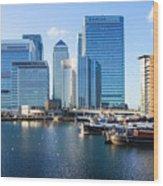 Canary Wharf 9 Wood Print
