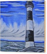 Canaveral Lighthouse Wood Print
