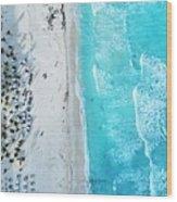 Cancun Wood Print