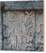 Cancun Mexico - Chichen Itza - Mosaic Wall Wood Print