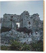 Cancun Mexico - Tulum Ruins - Palace Wood Print