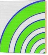 Candid Color 13 Wood Print