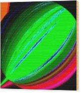 Candid Color 5 Wood Print