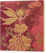 Candy 1 Wood Print by Jackie Rock