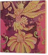 Candy 3 Wood Print by Jackie Rock