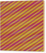 Candy 3 Wood Print