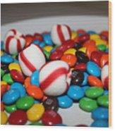 Candy Wood Print