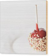 Candy Apple Wood Print