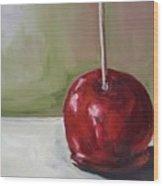 Candy Apple Wood Print
