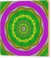 Candy Colors Liberation Wood Print