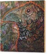 Candy Crow Wood Print
