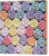 Candy Love Wood Print