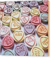 Candy Love Photography Wood Print by Michael Tompsett