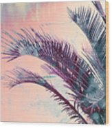 Candy Palms Wood Print