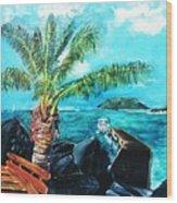 Cane Garden Bay Tortola 1997 Wood Print