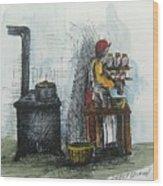 Canning Wood Print