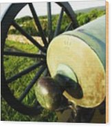 Cannon At Antietam Wood Print