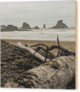 Cannon Beach 2 Wood Print