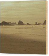 Cannon Beach 3 Wood Print
