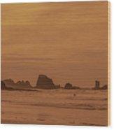 Cannon Beach 4 Wood Print