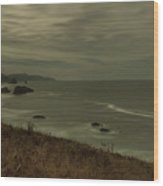 Cannon Beach 5 Wood Print