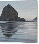 Cannon Beach 6211 Wood Print