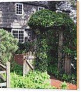 Cannon Beach Charm Wood Print