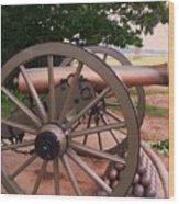 Cannon Gettysburg Wood Print